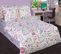 Детское постельное белье в кроватку Модные штучки, поплин 100%хлопок