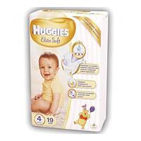 Подгузники Huggies Elite Soft 4 Small 19 шт.