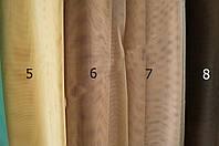 Тюль фатин однотонный (цвета №5, 6, 7, 8), высота 3 метра