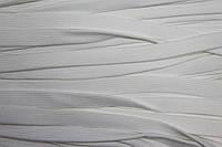 Шнур плоский 15мм (100м) белый , фото 1