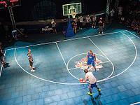 Напольное резиновое покрытие для спортивных площадок, резиновая плитка 20мм, фото 1