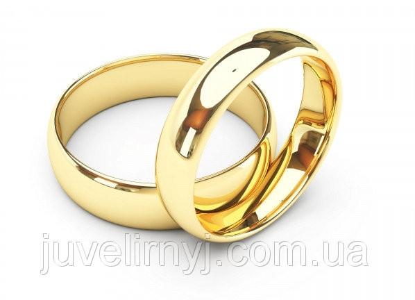 Золотые обручальные кольца Классика  0.82, 143371, 16.5