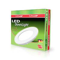 EUROLAMP LED Светильник круглый DownLight 4W 3000K
