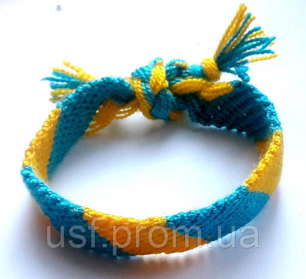 Браслет плетёный - Украинская сувенирная фабрика в Мариуполе