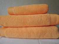 Полотенце махровое банное Оранж микрокоттон Softcotton