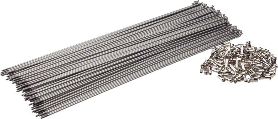 Спицы велосипедные SLE-CP-248 хром, толщина 2 мм.