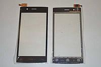 Оригинальный тачскрин / сенсор (сенсорное стекло) для Fly FS451 Nimbus 1 (черный цвет) + СКОТЧ В ПОДАРОК
