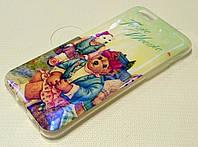 Чехол детский силиконовый с рисунком teenie weenie для iPhone 6/6s