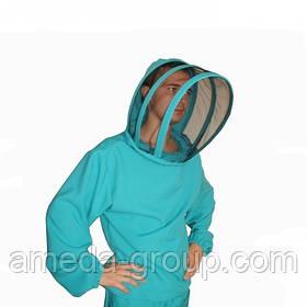 Куртка пчеловода  габардин маска европейского образца