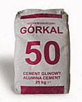 Цемент глиноземистый Gorkal-50