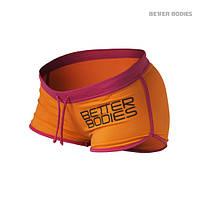 Спортивні шорти Better Bodies Contrast Hotpants Orange / Pink
