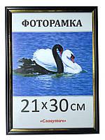 Фоторамка ,пластиковая, А4, 21х30, рамка , для фото, дипломов, сертификатов, грамот, картин 1512-103