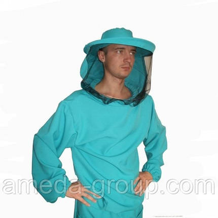 Куртка пчеловода габардин маска классическая, фото 2