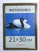 Фоторамка ,пластиковая, А4, 21х30, рамка, для фото, дипломов, сертификатов, грамот, картин, 1511-95