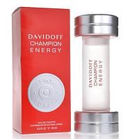 """Мужская туалетная вода """"Davidoff Champion Energy"""" (90 мл)"""