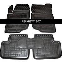 Коврики в салон Avto Gumm 11471 для Peugeot 207 2006-2012
