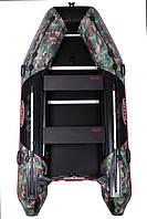 Моторная лодка с надувным килем камуфляж Vulkan TMK320