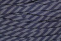 Шнур плоский 15мм (100м) синий+белый , фото 1