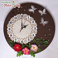 Настенные часы ВЕСНА Spring, дизайнерская работа