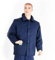 Куртка ватная синего цвета, гретта