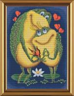 Набор для вышивания нитками и бисером Любовь ННД 4019