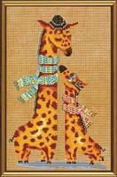 Набор для вышивания нитками и бисером Жирафики ННД 4024