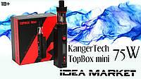 Электронная сигарета Topbox mini(75w)TC black starter kit СLONE