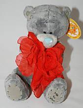 Мишка плюшевый Тедди с цветком Сонечко