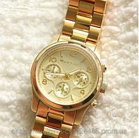 Женские наручные часы под золото MK