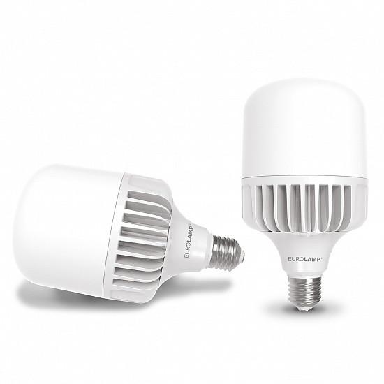 LED Лампа высокомощная 40W E27 6500K, EUROLAMP