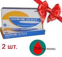 Glucocard Test Strip ll 2 упаковки
