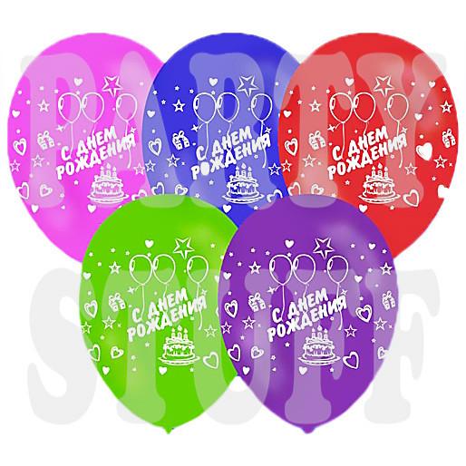 Воздушные шарики День рождения