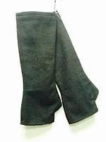 Перчатки женские Leagel без пальцев высокие черные