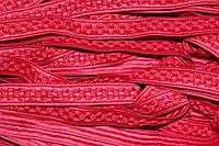 Тесьма окант. цепь 20мм (50м) красный , фото 1