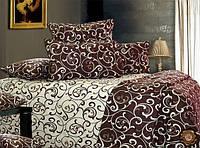 Двухспальный набор постельный (рисунок Завитушки)
