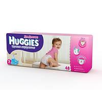 Трусики-Подгузники Huggies Little walkers для девочек 5 (13-17 кг) 48 шт.