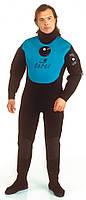 Сухой гидрокостюм для дайвинга SigmaSub Коралл; неопрен 6 мм; с сапогами