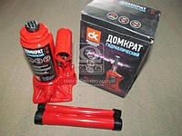 Домкрат бутылочный, красный 2т, H=150/280