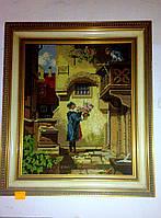 """Вышитая картина """"Ромео и Джульета"""""""