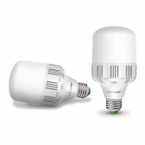 LED Лампа высокомощная 40W E40 6500K, EUROLAMP, фото 2