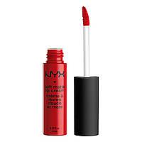 NYX SMLC01 Soft Matte Lip Cream Amsterdam - Жидкая помада для губ, 8 мл