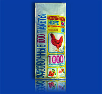 """Пакет Фасовочный полиэтиленовый 10х22 №0 """"Курица"""""""