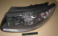 Фара левая электрическая с мотором Hyundai Santa Fe 2006-2009