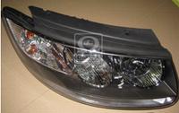 Фара правая электрическая с мотором Hyundai Santa Fe 2006-2009