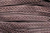 Тесьма окант. цепь 20мм (50м) коричневый