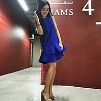 Женское платье с воланами  IT-34