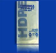 """Пакет Фасовочный полиэтиленовый 10х27 №2 """"Торебка"""""""
