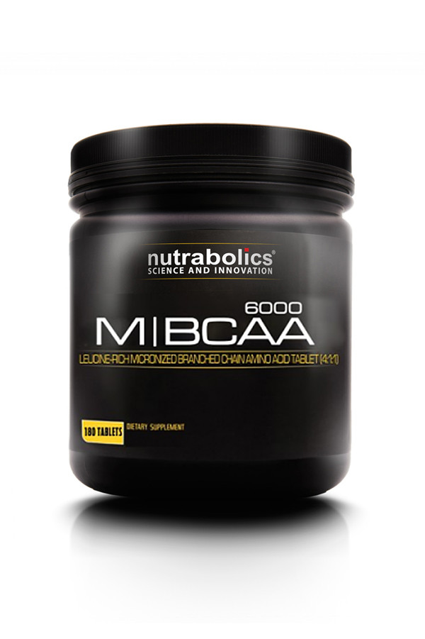 NutraBolics M-BCAA 6000, 180 tab
