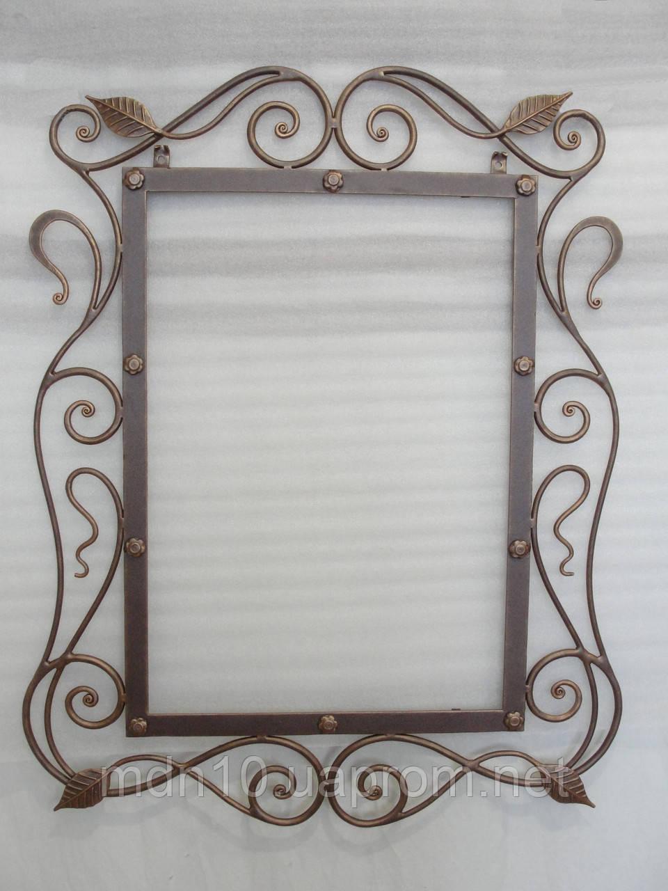 Кованая рама зеркала  - 03-2
