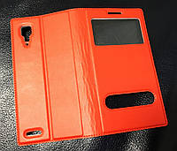 Книжка-чехол кожа для Lenovo P780